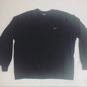 Nike Sweatshirt Crewneck Black Men's Size Large XL